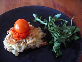 Potato Pancake, Latkas, Kookoo Sib Zamini by Ng @ What's for Dinner?