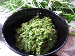 Wild Garlic Pesto by Ng @ Whats for Dinner?
