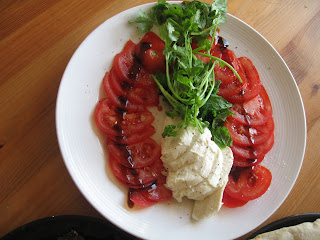 Tomatoes, Cheese and Herbs by ng @ Whats for Dinner?