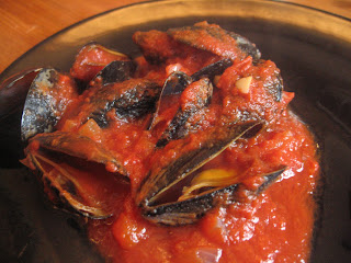 Tomato Mussels @ Whats for Dinner?