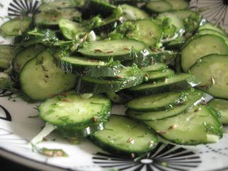 Dill Pickle Cucumber Salad by Ng @ Whats for Dinner?