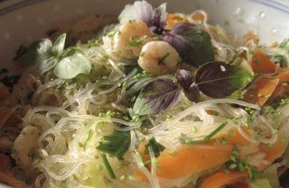 Vermicelli Salad with Prawns by Ng @ Whats for Dinner?
