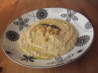 Mom's Roasted Chili Pepper Hummus by Mom @ What's for Dinner?