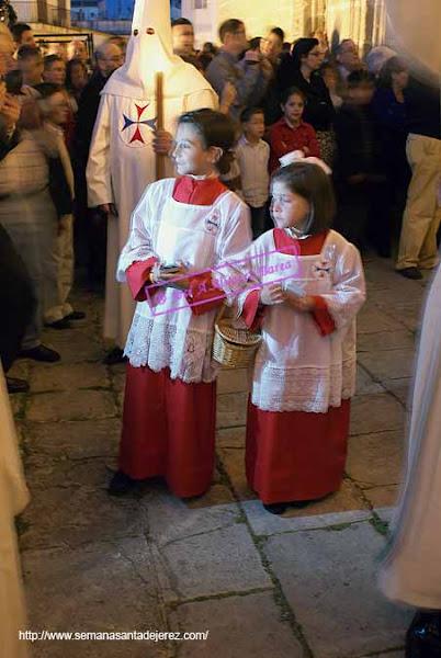 monaguillos de la noche del Sabado de Pasion