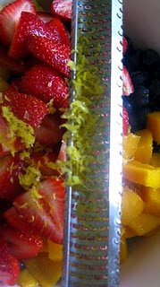 Summer Fruit Salad l SimplyScratch.com