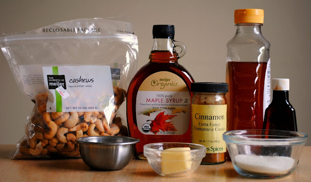 Honey Roasted Cashews l SimplyScratch.com