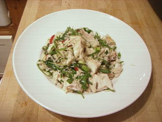 roast chicken and rice salad