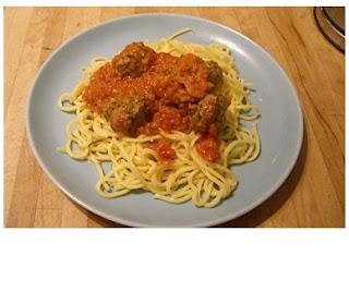 spinach & parmesan meatballs