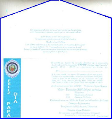 promocion de oficiales pip invitacion a la reunion por el dia del