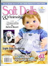 "My Sock Creature article is published in ""Soft Dolls & Animals"" magazine"