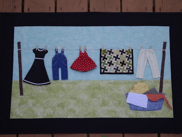 Clothesline Wall Hanging!