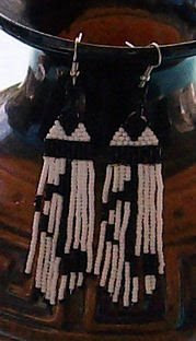 Native American Regalia Neckalce/Earring Item 658