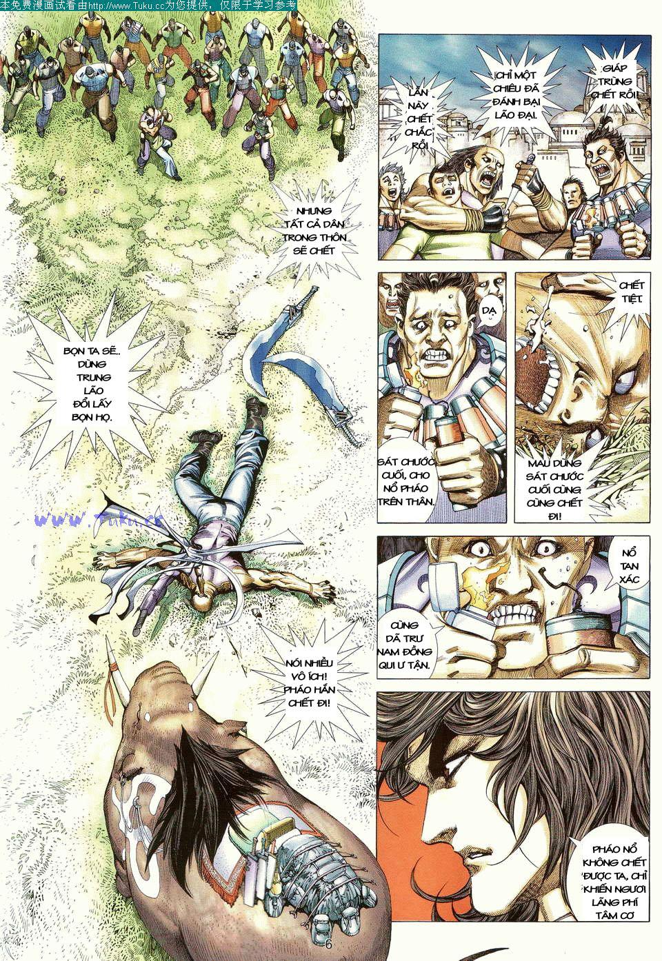 Võ Thần Ngoại Truyện chap 13 - Trang 5