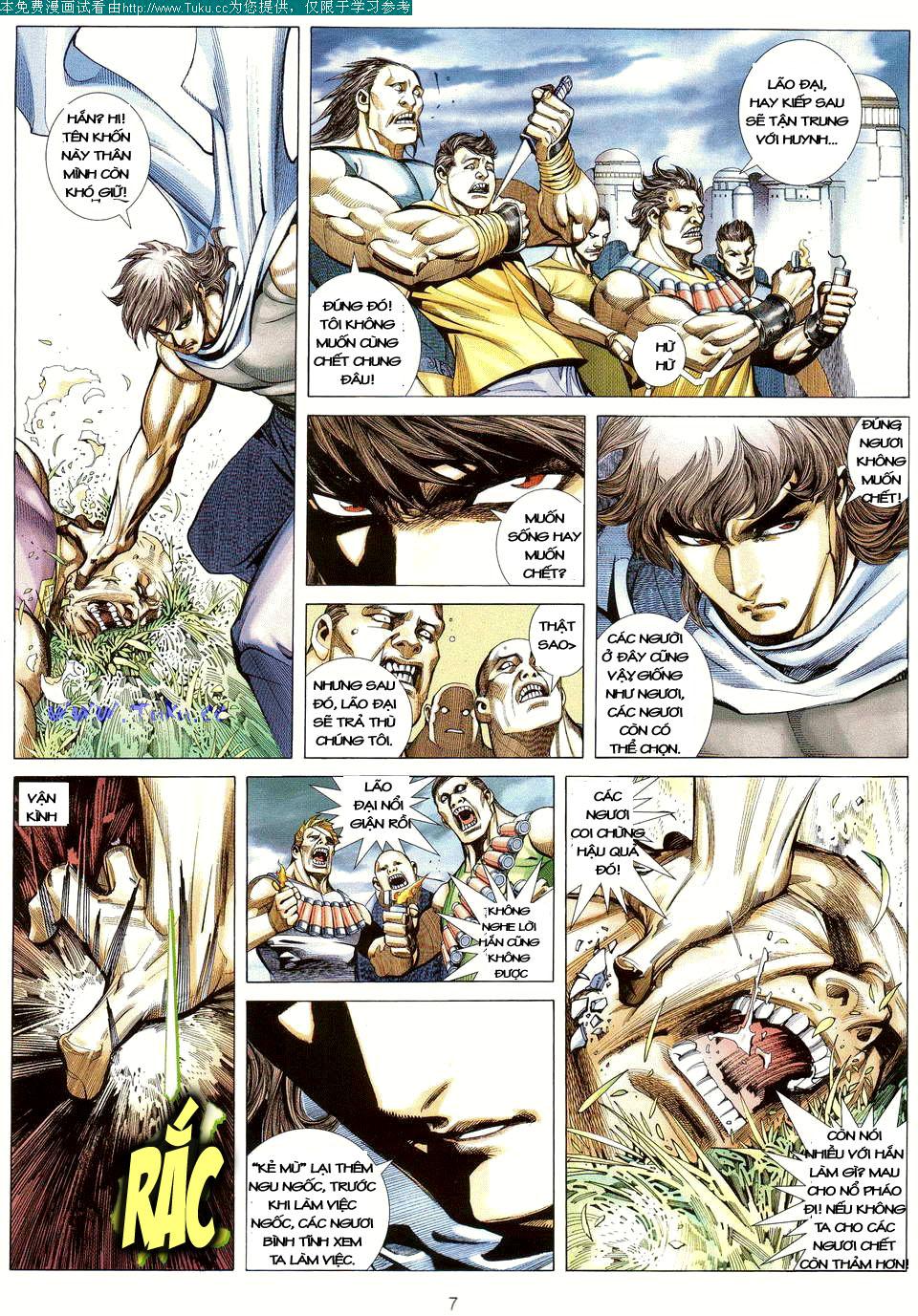Võ Thần Ngoại Truyện chap 13 - Trang 6