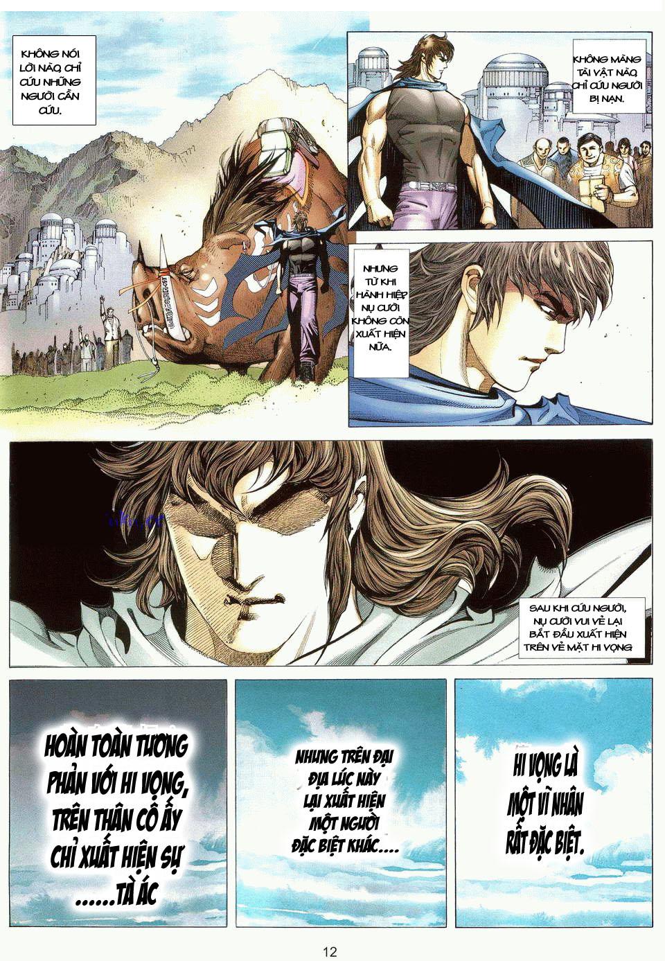 Võ Thần Ngoại Truyện chap 13 - Trang 11
