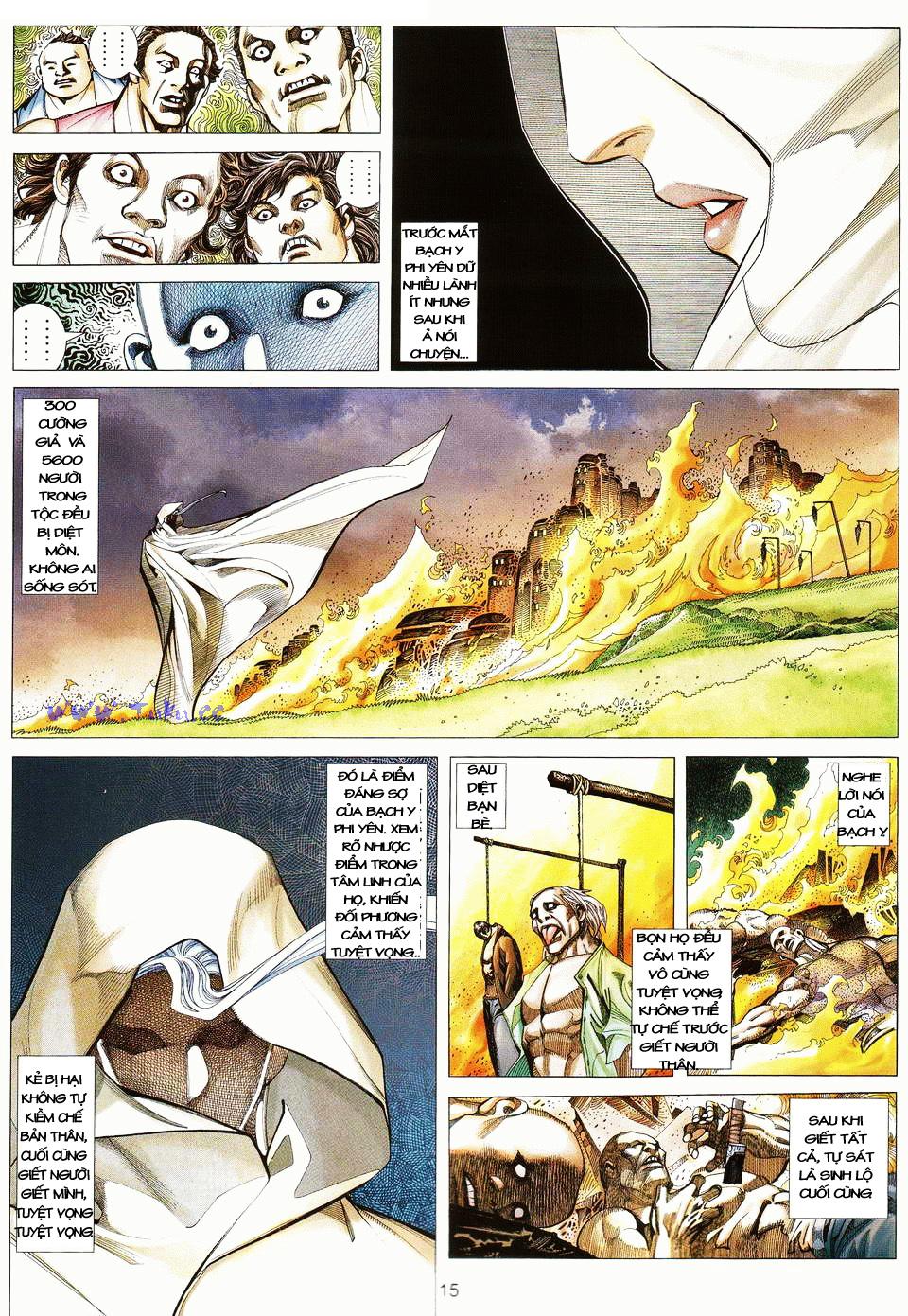 Võ Thần Ngoại Truyện chap 13 - Trang 14