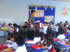 Alumnos del Tercero A, aprenden a construir una carta.