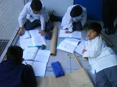 Trabajando en Matematicas y rompiendo esquemas...
