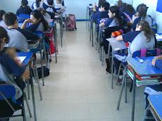 Una gran clase de Lenguaje, con profesora Ximena.