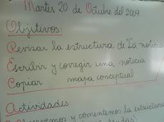Así trabaja, Cristina Morales, nuestra profesora de Lenguaje.