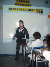 Profesora practicante Katherine Vega...