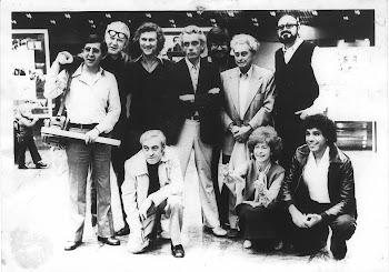 Con Sjoman, Ivens, Solanas, Eguino y otros