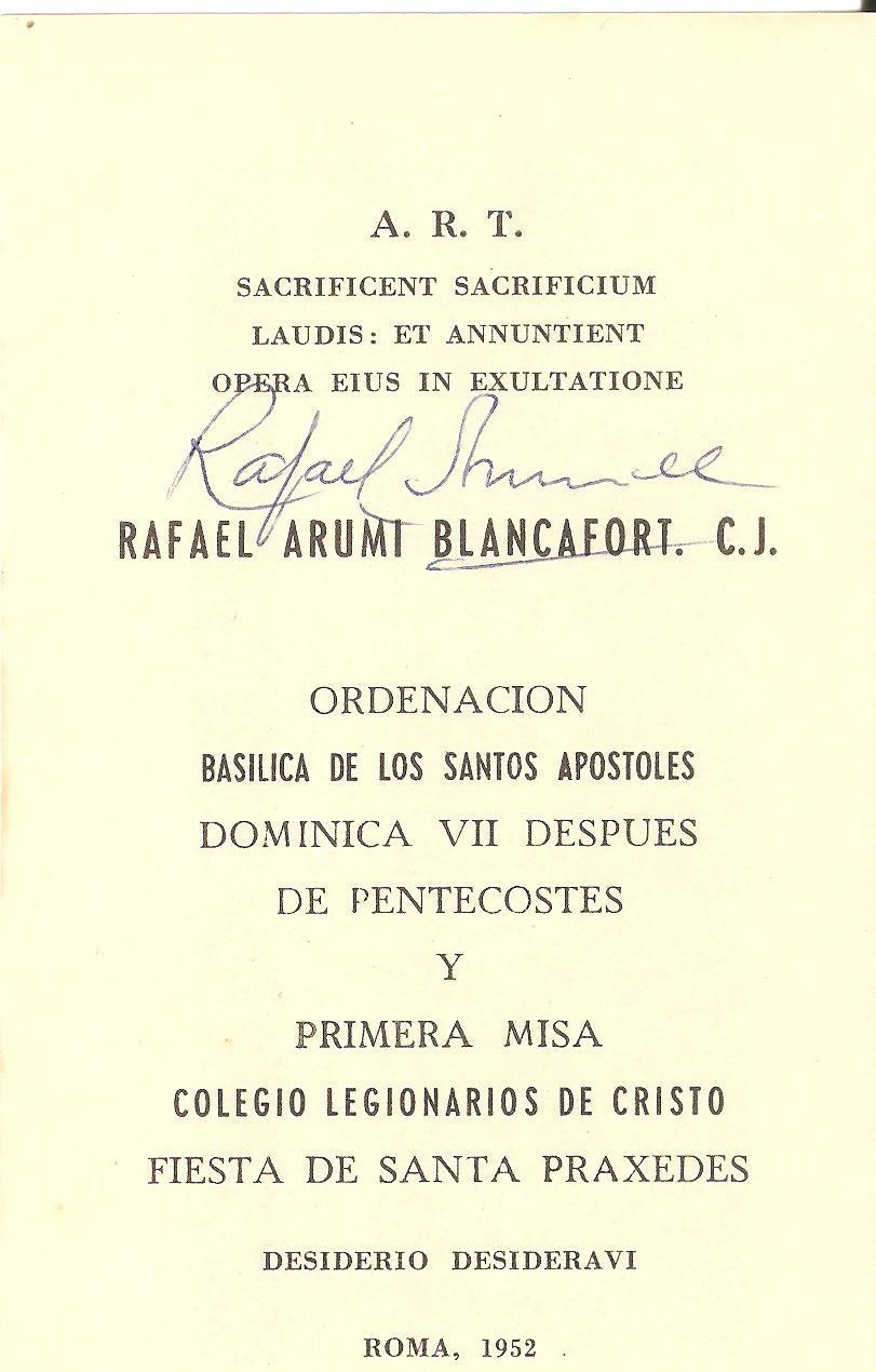 Cor unum: 13 de junio. Recordatorio de la ordenación sacerdotal ...