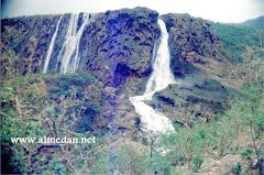منظر للشلالات في ظفار