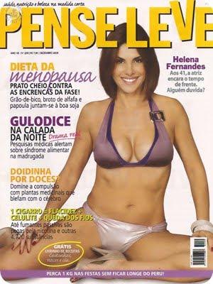 Helena Fernandes Revista Pense Leve Dezembro