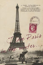 I Love Paris in Winter