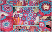 Hexágonos Crochet-Neceser de Manicura