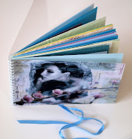Examples of my handmade books / Exempel p mina handgjorda bcker