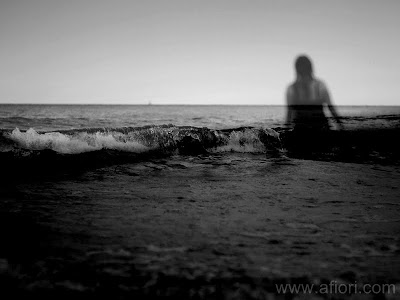 Maria-Thérèse Andersson afiori www.afiori.com Black Sea Ocean Dark Fine art photography Härnösand hav beach strand wave våg