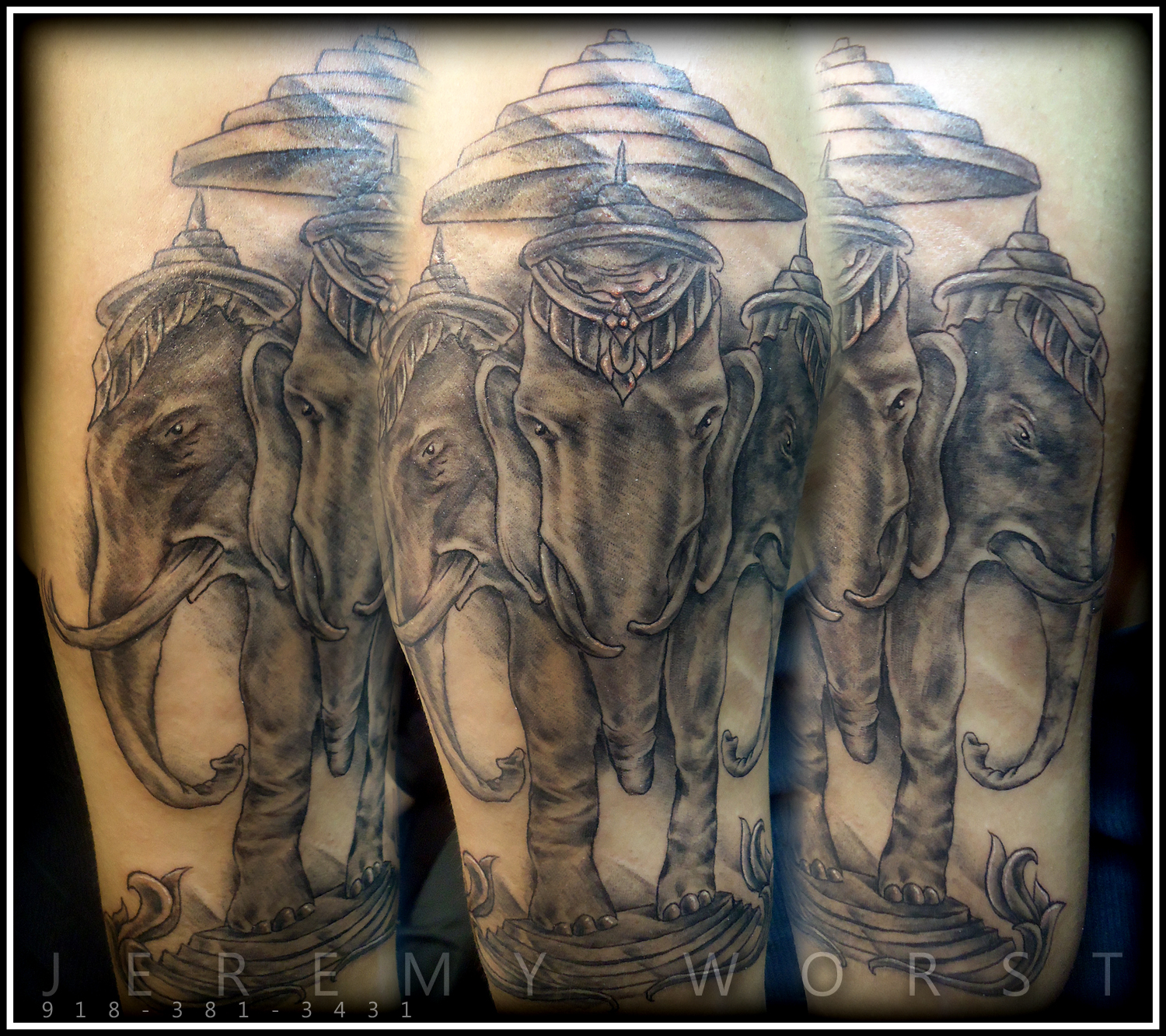 jeremy worst jeremy worst forearm tattoo session dragon koi painting art khmer laos sketch. Black Bedroom Furniture Sets. Home Design Ideas