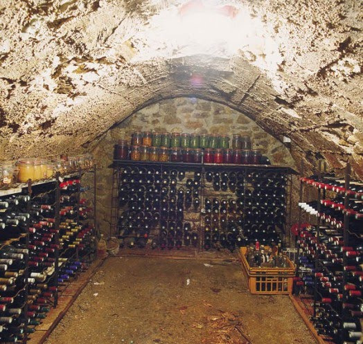 Beautiful amenagement cave vout e images - Amenager sa cave a vin ...