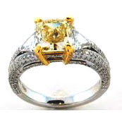 Image of 12th most expensive gold and diamond ring jewelry