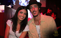Eric Balfour and Crystal Reed at the Skyline Promotional Party
