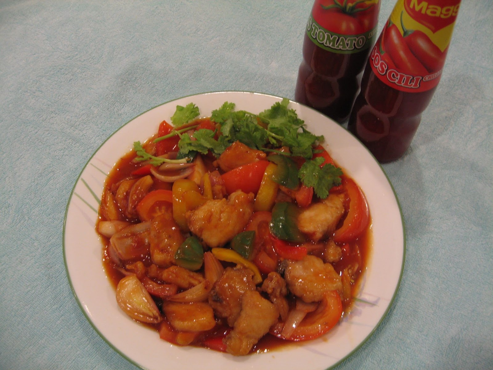Ah Beh's Recipes: Fried fish fillet in Tomato sauce
