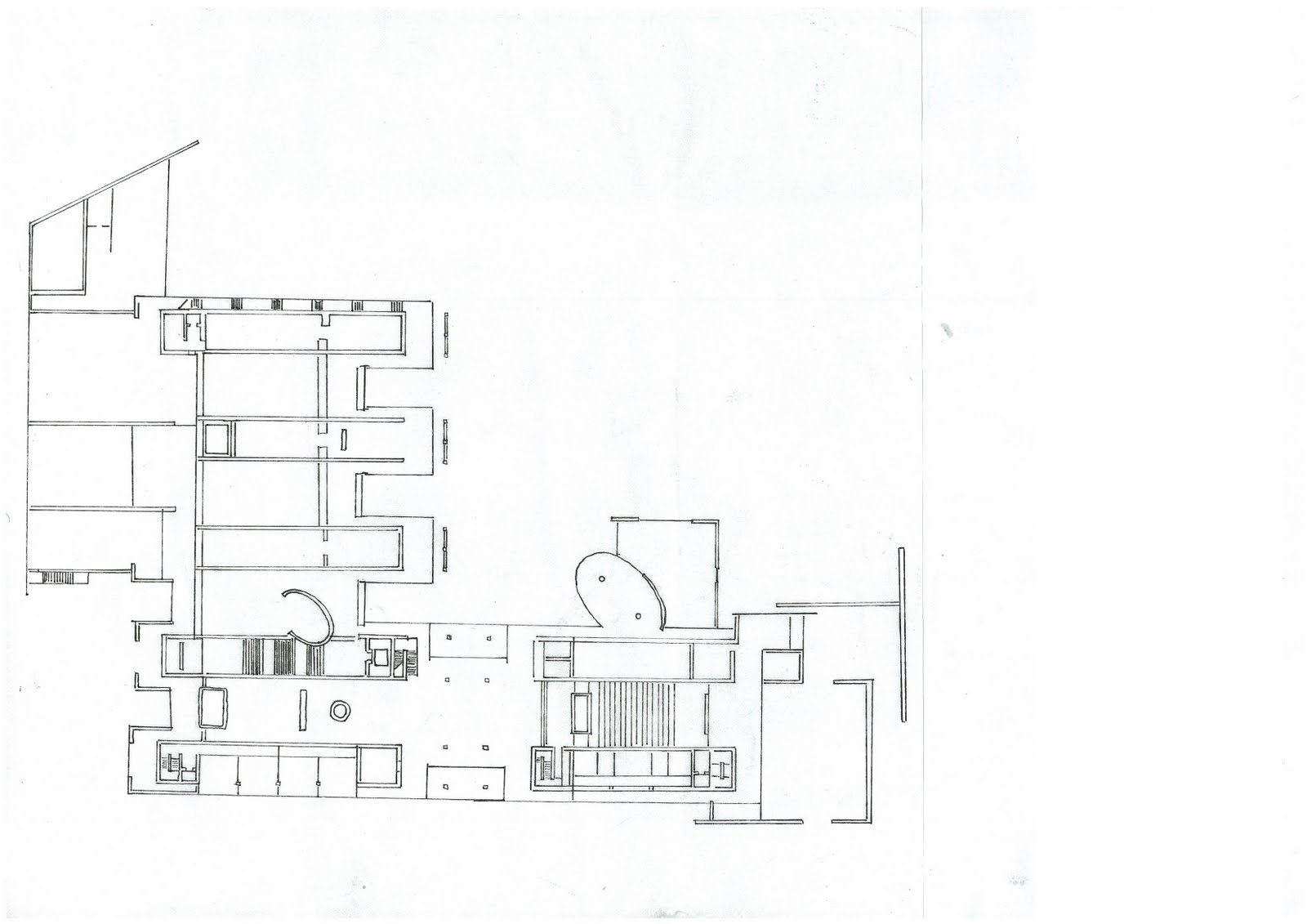 Floor Plan Elevation Section Perspective : Tadao ando floor plans house