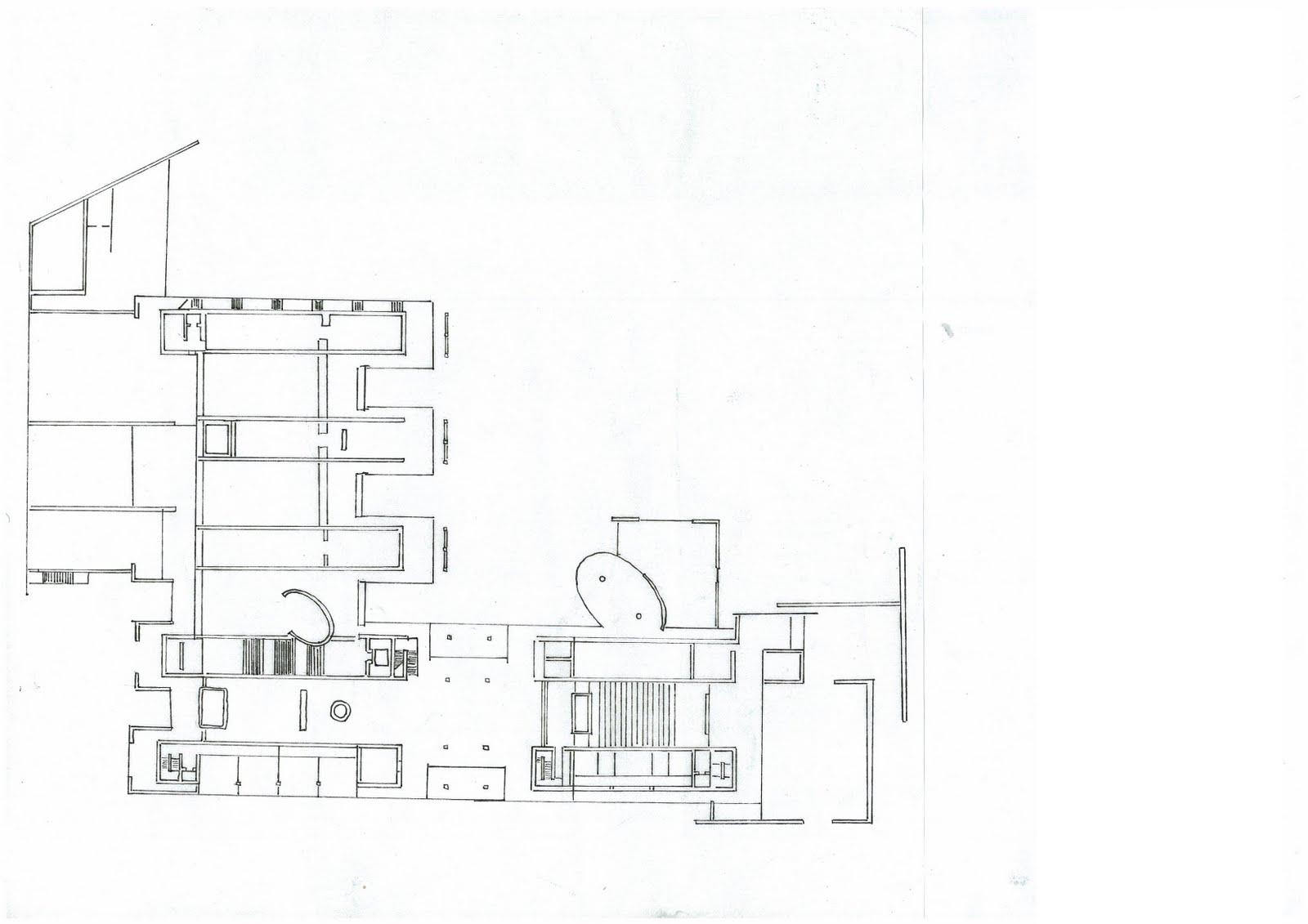 Plan Elevation Perspective : Pencils pen sj a site plan section elevation