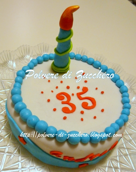abbastanza Una torta piccola per un grande uomo! | Polvere di Zucchero:cake  XU94