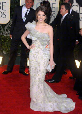Fabulous One Shoulder Gown on 67th Annual Golden Globe Awards