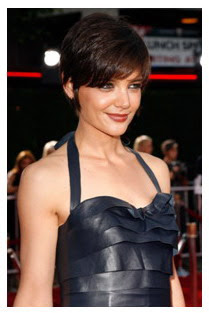 katie holmes pixie haircuts