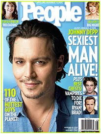 Johnny Depp – Sexiest Man Alive 2009