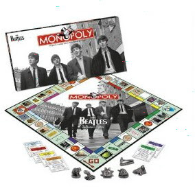 Christmas Gift Ideas-The Beatles Monopoly Game