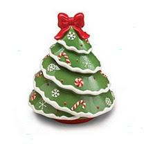 Christmas Tree Shape Cookie Jar