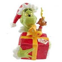 Dr. Seuss How The Grinch Stole Christmas Cookie Jar