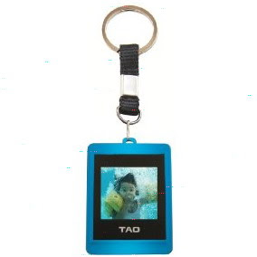 Christmas Gift Ideas-Digital Photo Key Chain