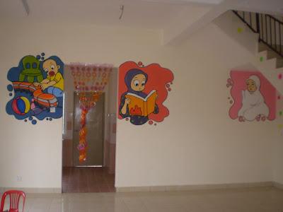 Nba art design inginkan keceriaan di taska atau tadika for Mural untuk taska