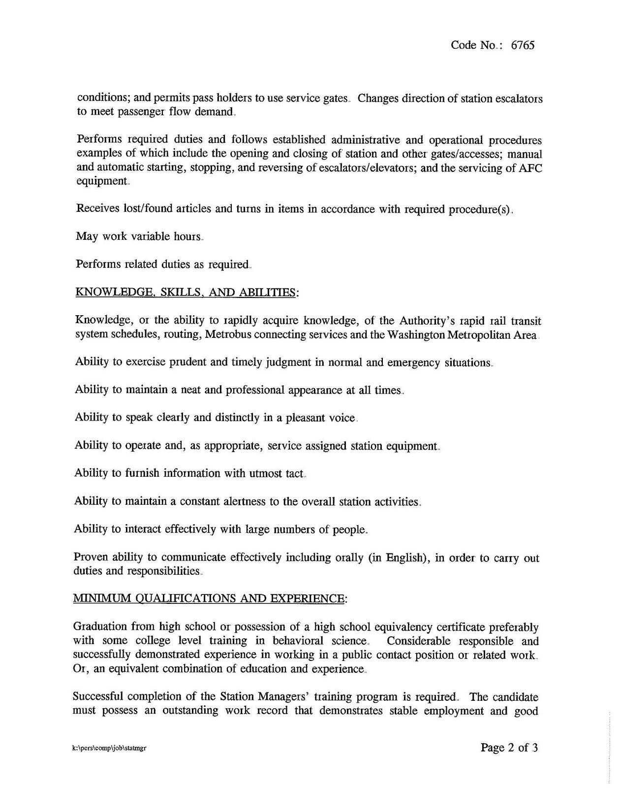 manager job description 5b25d subway - Practice Director Job Description